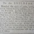 joj 13 june 1772  builders