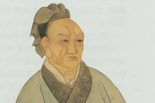 sima qian painted portrait