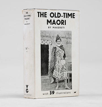 Old Time Maori book