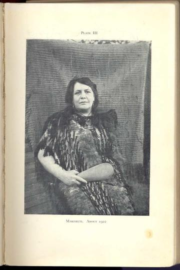 Plate 3 - Old Time Maori _ Makereti c.1922